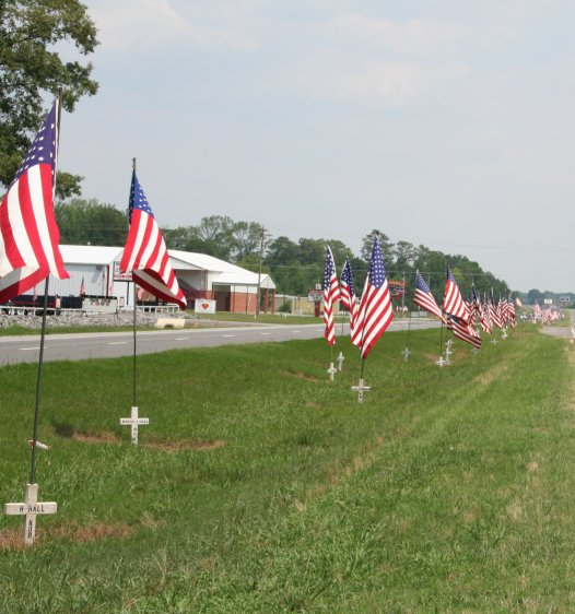 Picture taken along Highway 411 in Center, Alabama