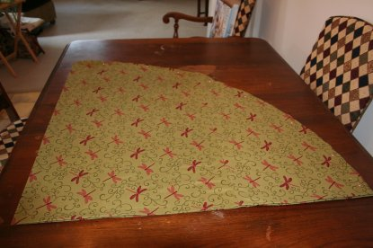 Sew A Round Tablecloth
