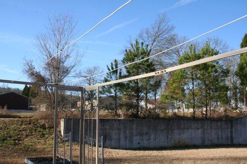 gazebo clothesline