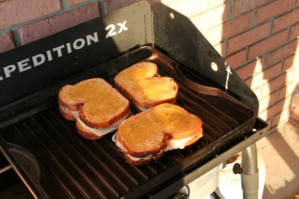 Place on preheated grill