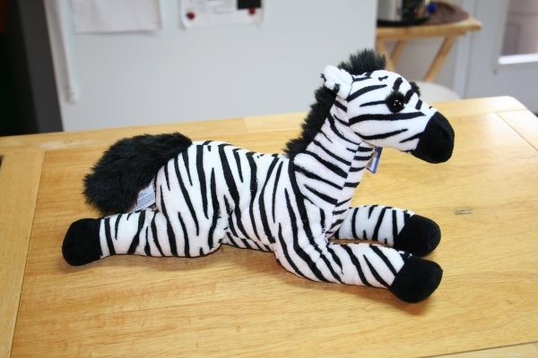 Stuffed Toy Zebra