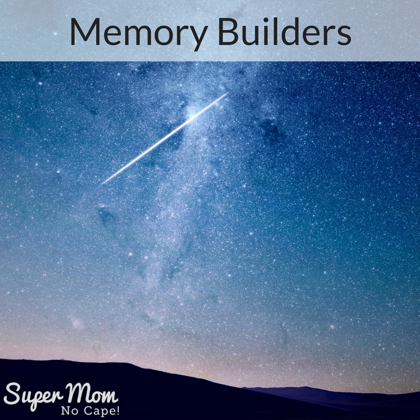 Build some memories - take the family out to watch meteor showers