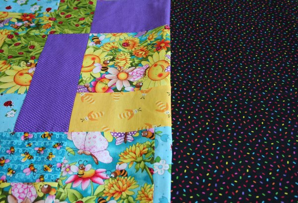 Border Fabric for Smiling Sunflower quilt