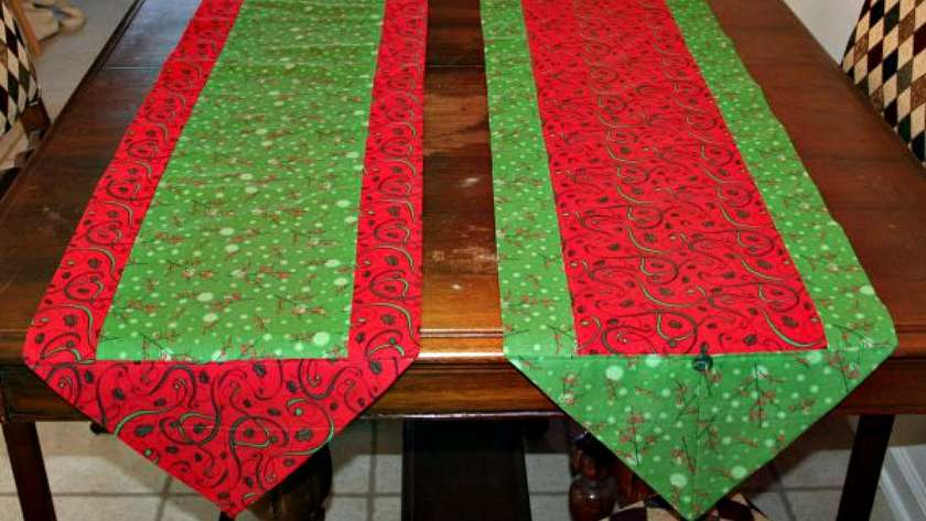 One Hour Version of the 10 Minute Table Runner