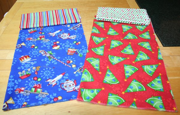 Fat Quarters for stockings