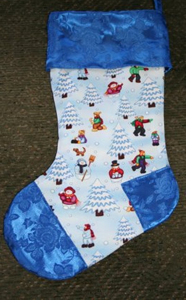 Dave's granddaughter's stocking