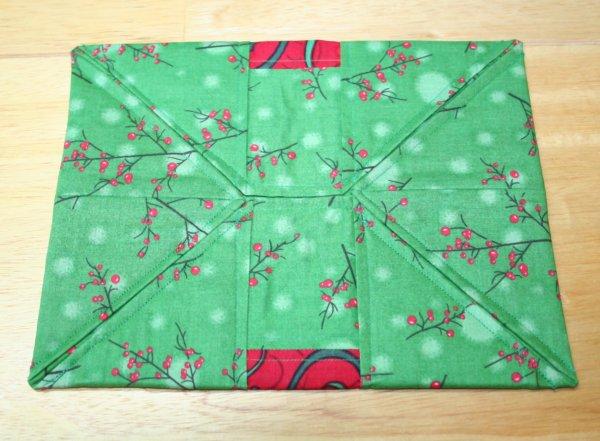 Origami style folding