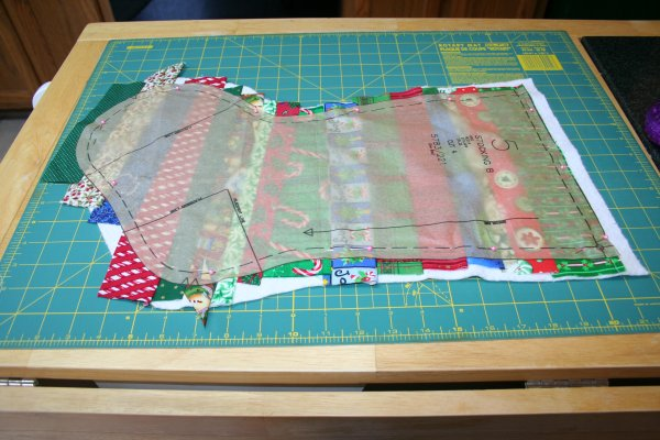 QuiltAsYouGo Christmas Stocking Tutorial Part One Super Mom New Quilted Christmas Stocking Pattern
