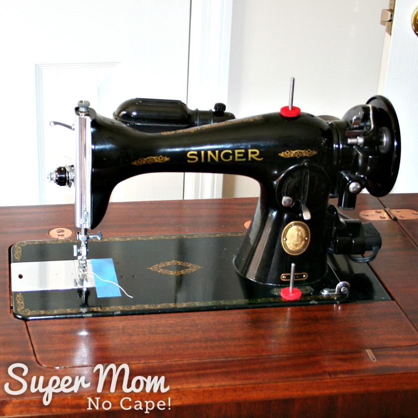 How to Remove a Vintage Singer Sewing Machine from Its Cabinet