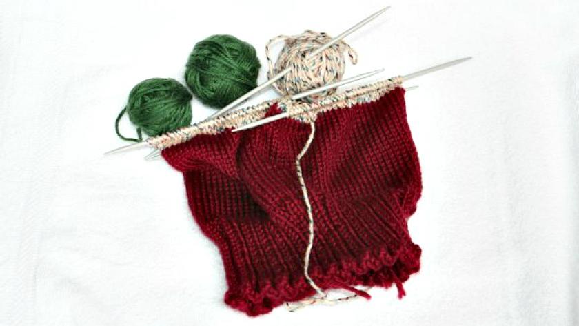 Scrap Hats Knitting Pattern
