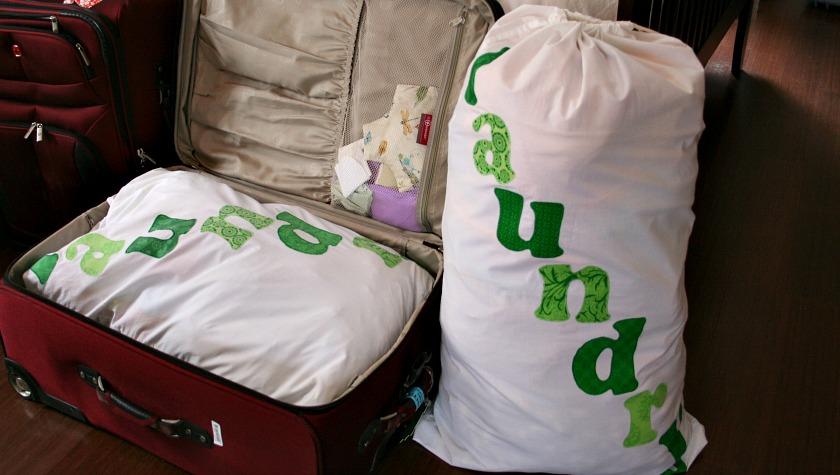 Travel Laundry Bag Tutorial