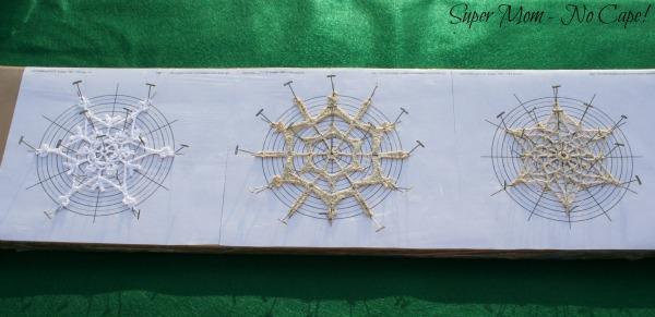 3 - blocked snowflakes