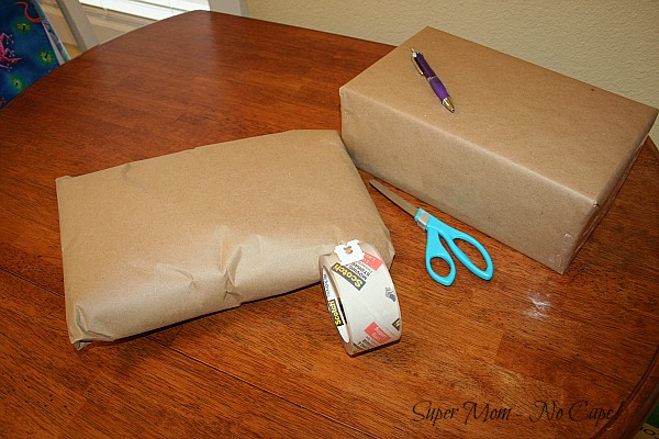 Brown Paper Wrapped Packages