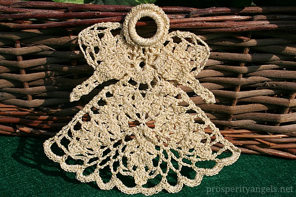 This second photo is the same angel taken with the angel propped up on  Mother S Moms Love Of Crochet Angels