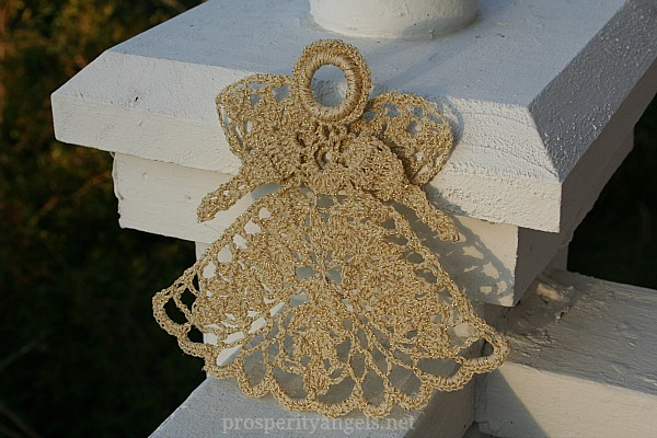 really love how this new Prosperity Angel turned out and plan to  Mother S Moms Love Of Crochet Angels