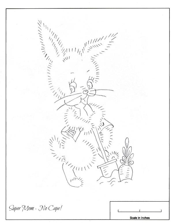 JPEG 85 Rabbit in Garden