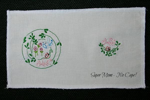 Ladybug Needlebook Embroidery