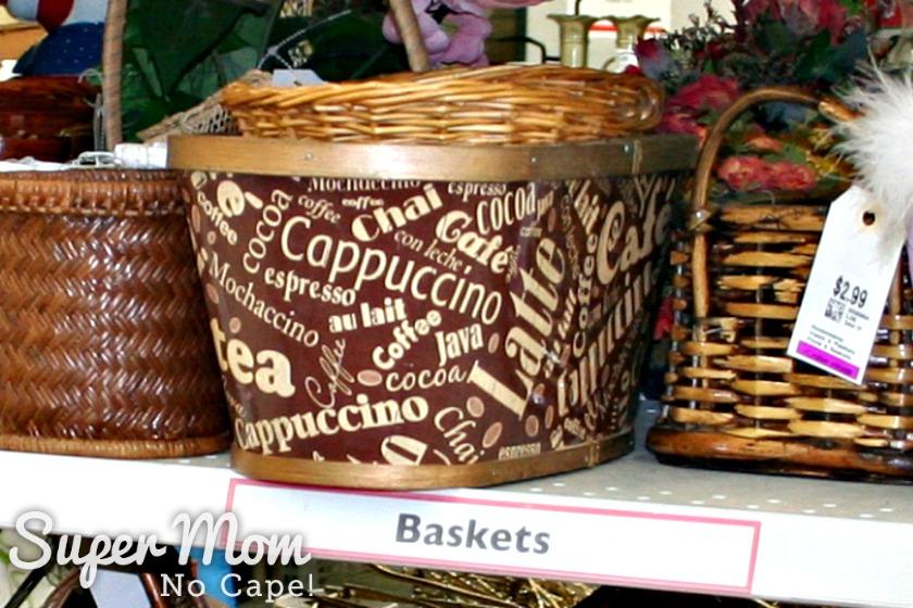 Start Collecting Basket - Beverage Basket