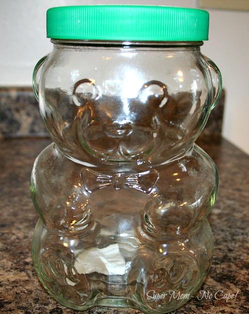Vintage Kraft Peanut Butter Jar circa 1988