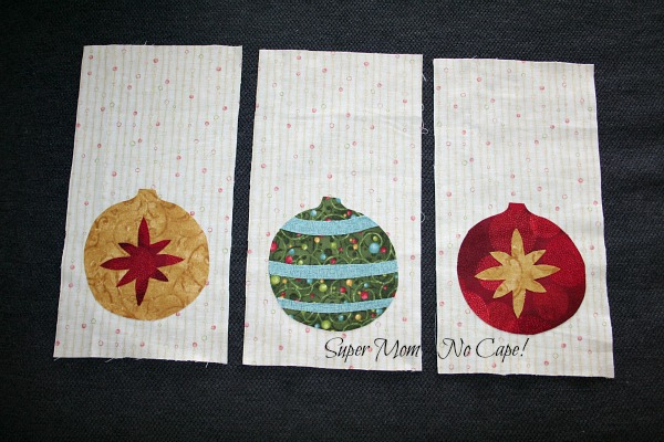 Mini Wallhanging prepped and ready to applique