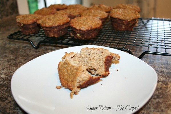 Photo of gluten free zucchini muffins