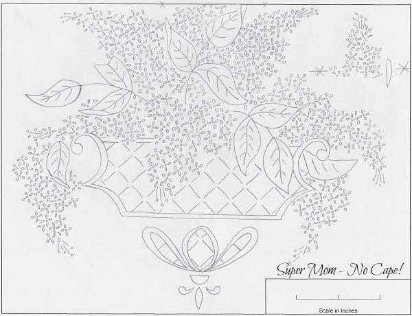 Workbasket Pattern of a Flower Planter