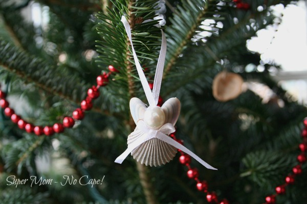 Completed Sea shell Angel with bow