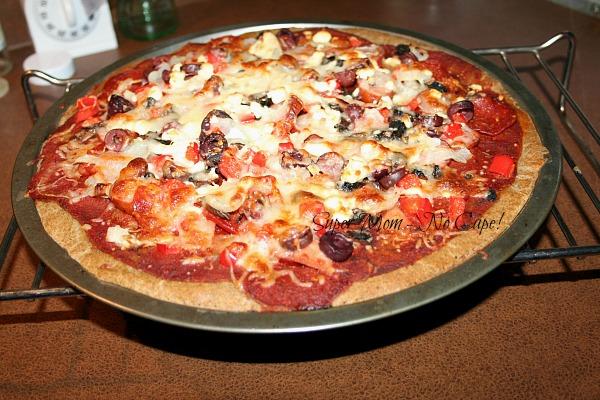 photo of gluten free pizza