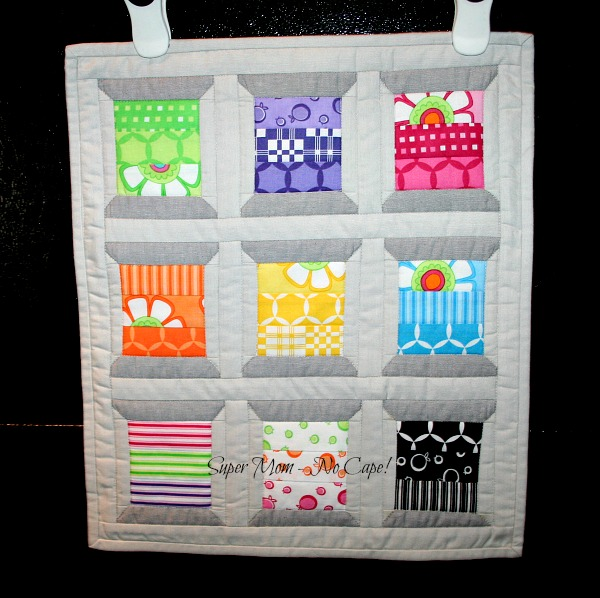 Mini Spools And Doll Quilts Finished Super Mom No Cape