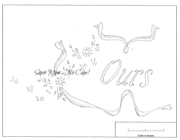 """Vintage Workbasket pattern for """"Ours"""""""