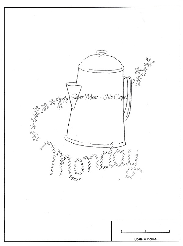 Vintage DOW Monday and Coffee Pot