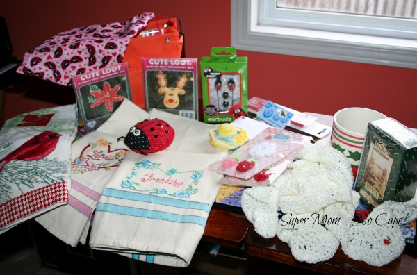 All the gifts from Terry