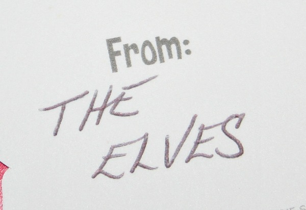 From the Elves