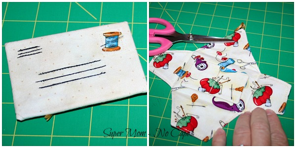 Little letter needle book