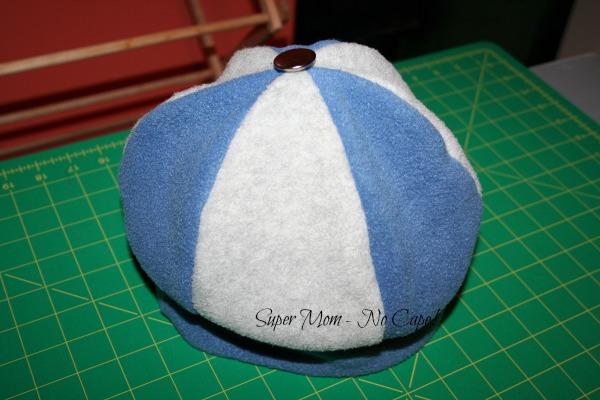 Two color fleece hat