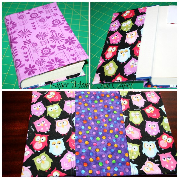 Middle Daughter's Fabric Book Cover