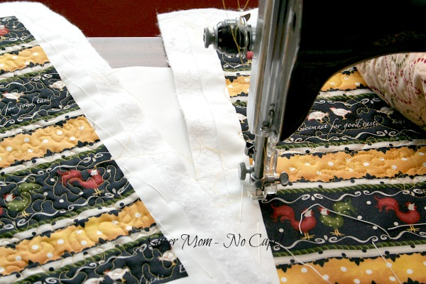 FMQ on rooster placemats