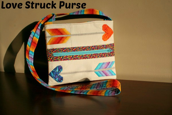 Front of Love Struck Purse