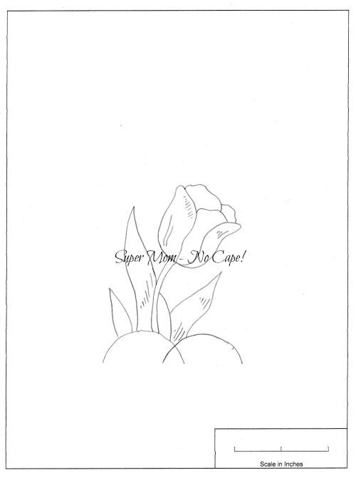Workbasket Pattern Page 79 - Small Tulip