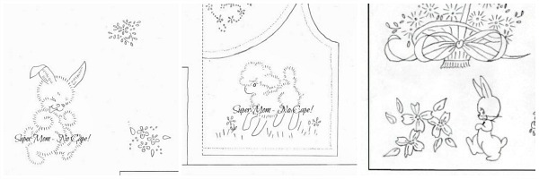 Small Easter Embroidery Patterns