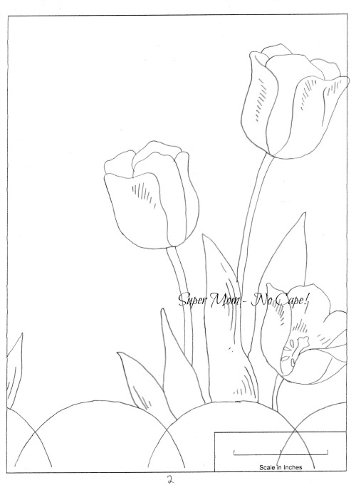 Workbasket pattern page 79 - Large Tulip 1b
