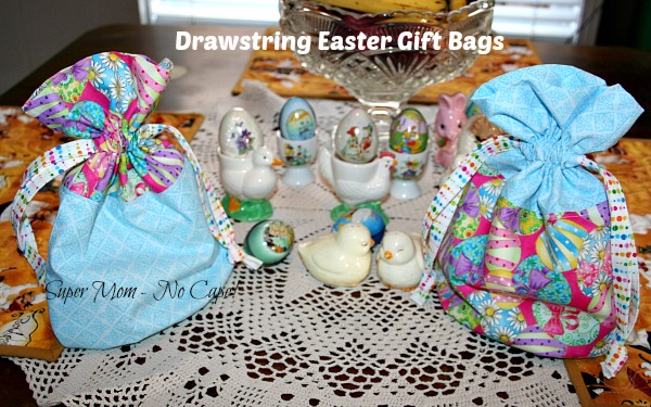 Drawstring Easter Gift Bags