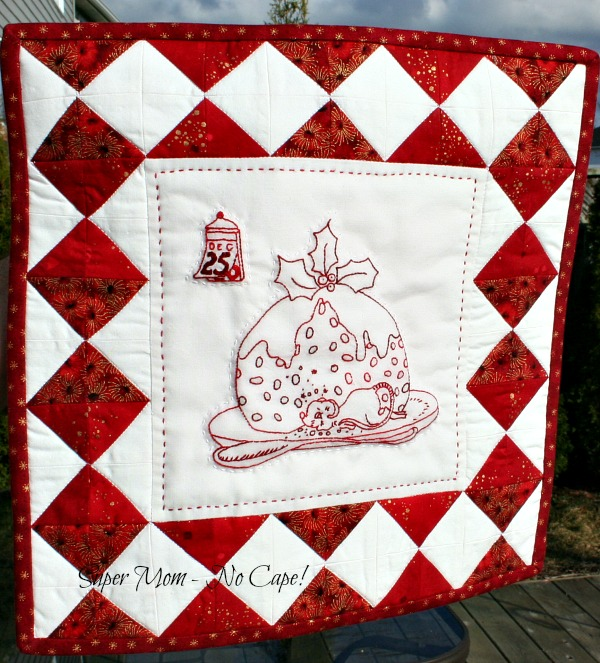 Mini Christmas Mouse Wallhanging