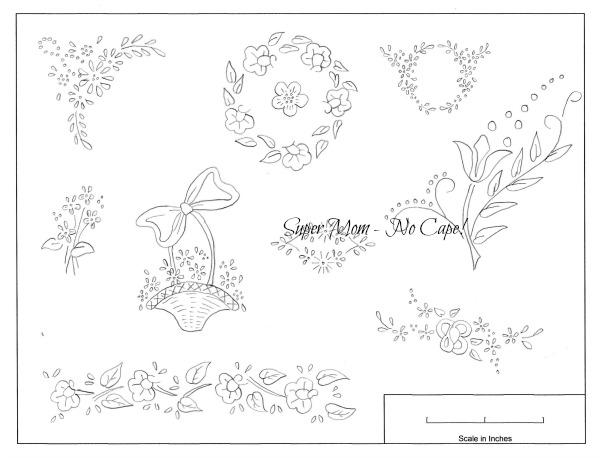 Small Motifs from Workbasket Pattern Page #86