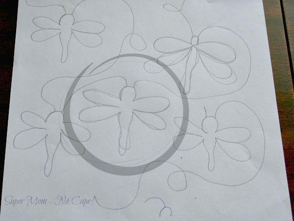 Dragonfly doodles