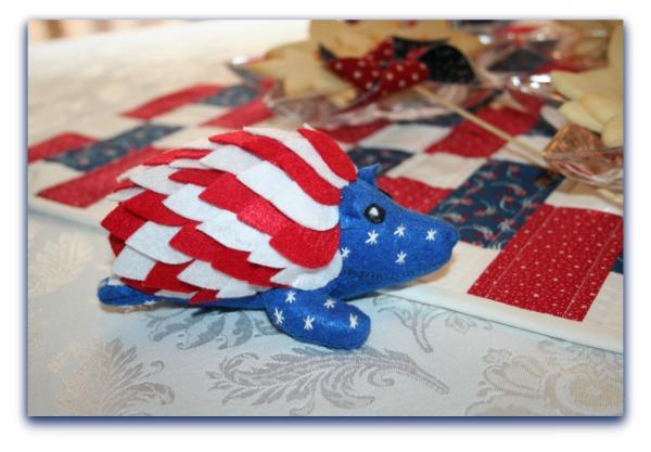 Independence Day Hedgehog