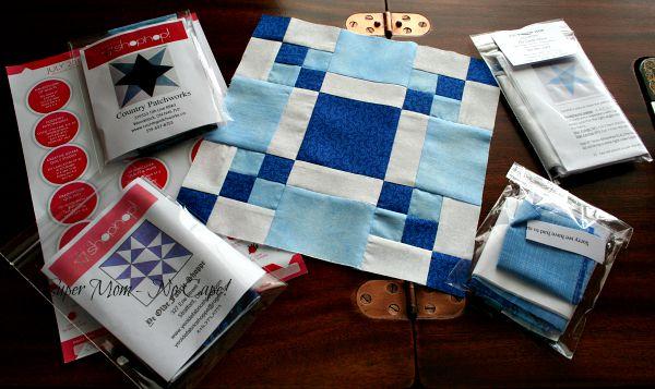 July Shop Hopping block kits