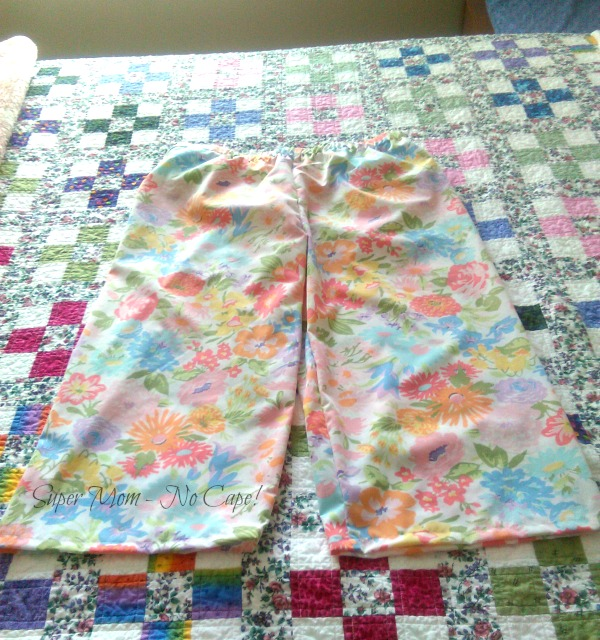PJ pants almost finished