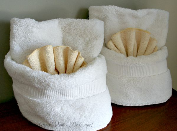 Towels for the guest bedroom