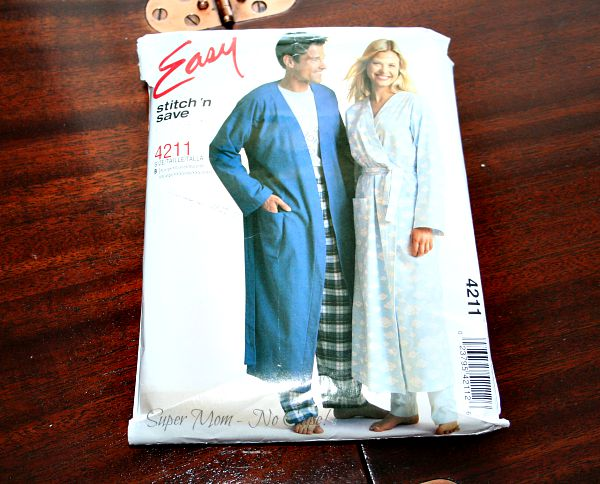 McCall's pattern that I used for my housecoat